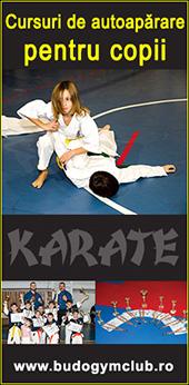 Cursuri pentru copii de autoaparare, arte martiale si karate